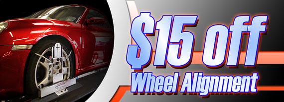 Wheel Alignment Coupon in Stratford, NJ